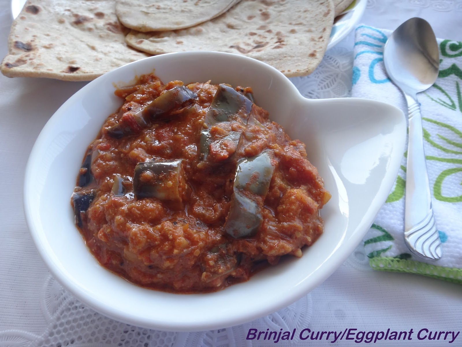 Prabha's Cooking: Brinjal Curry/Eggplant Curry