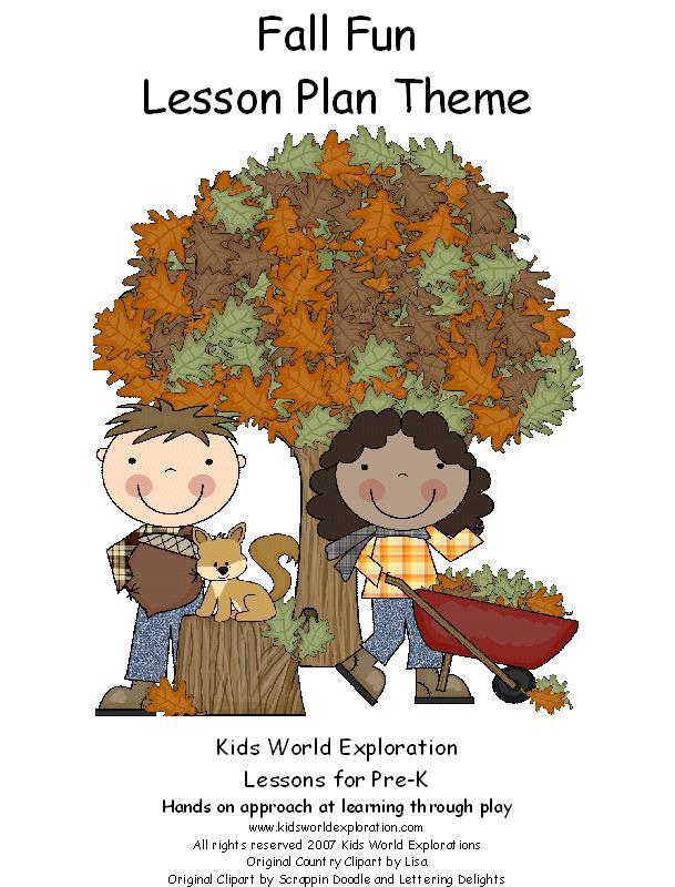 Learning and Teaching With Preschoolers: Fall Fun in Preschool