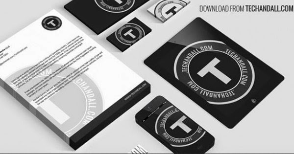 Download Branding Stationery Mockup Gratis - FULL BRANDING / IDENTITY MOCKUP