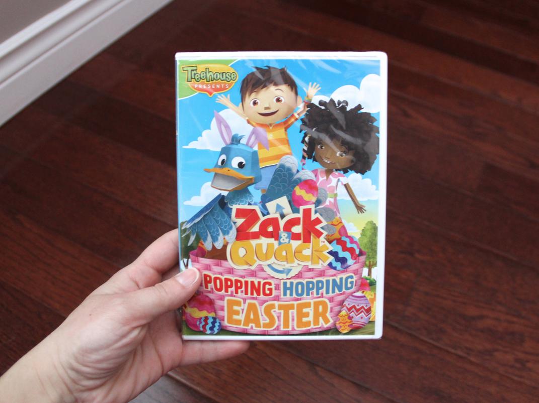 Treehouse Zack & Quack: Popping Hopping Easter DVD