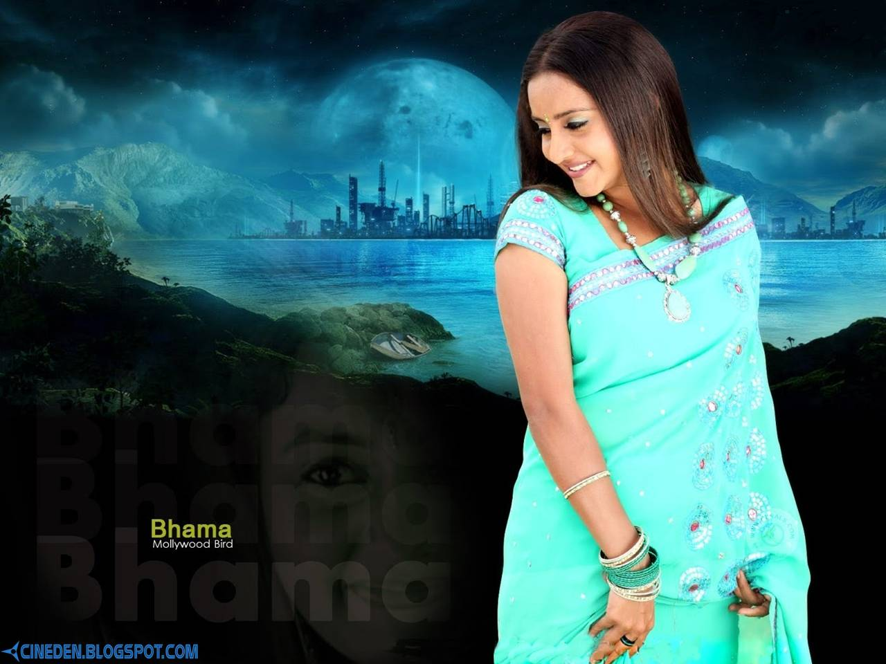 Bhama on a roll