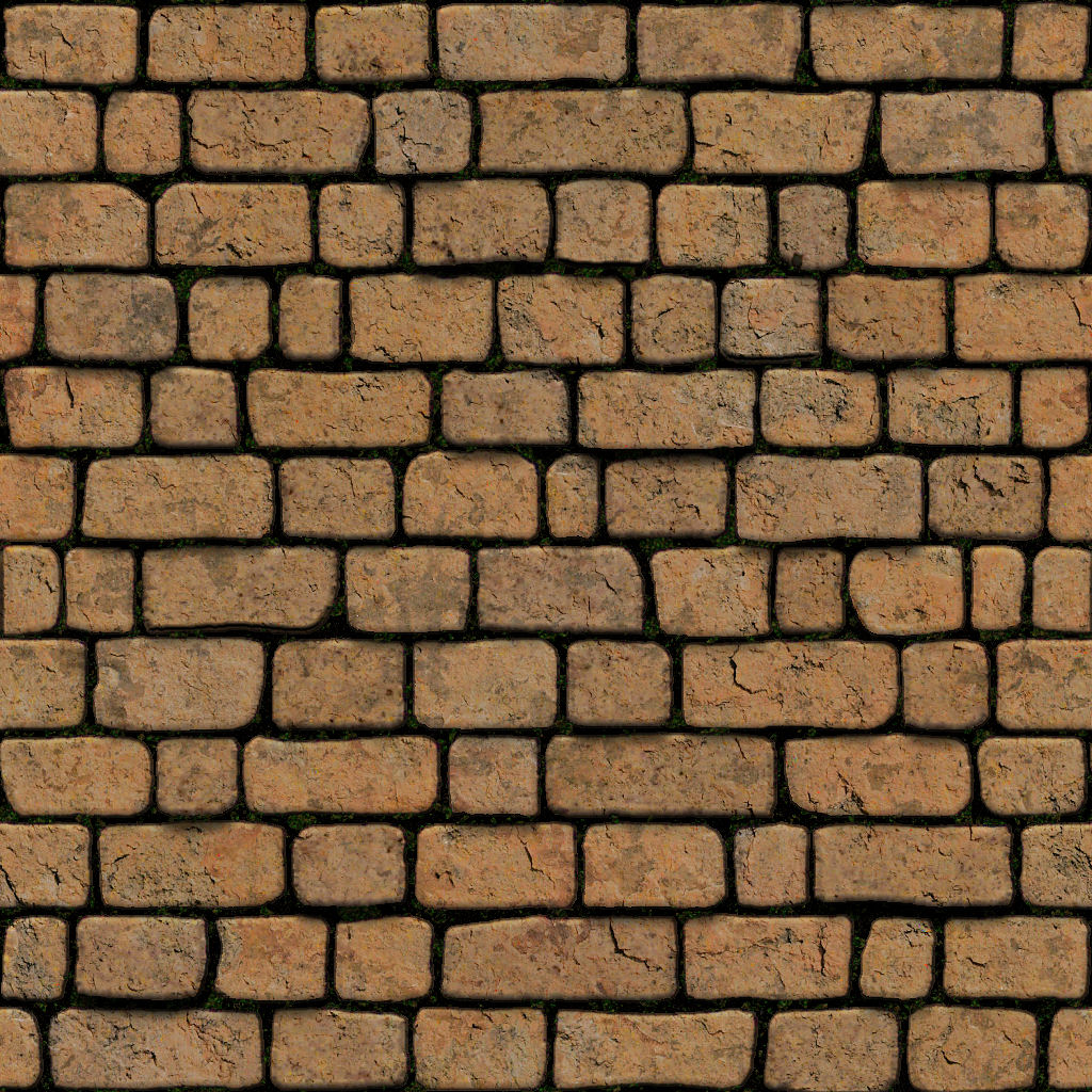 High Resolution Seamless Textures: Tileable Stone Wall Texture