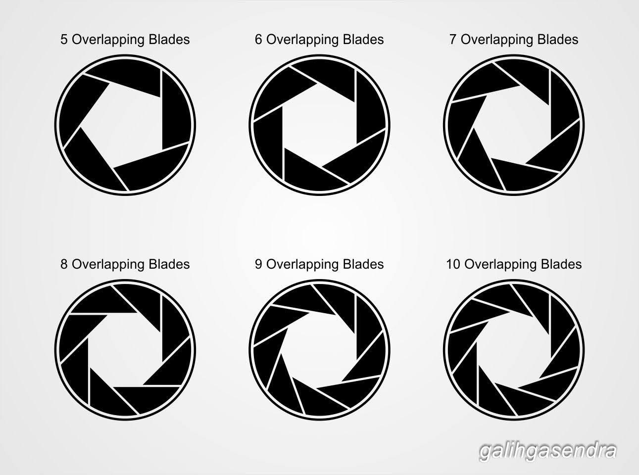 CorelDraw Tutorial - Lens Aperture / Shutter Logo | Kemal Fajar Tholomew