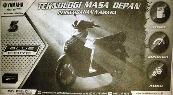 Iklan Yamaha Mio Blue Core 125