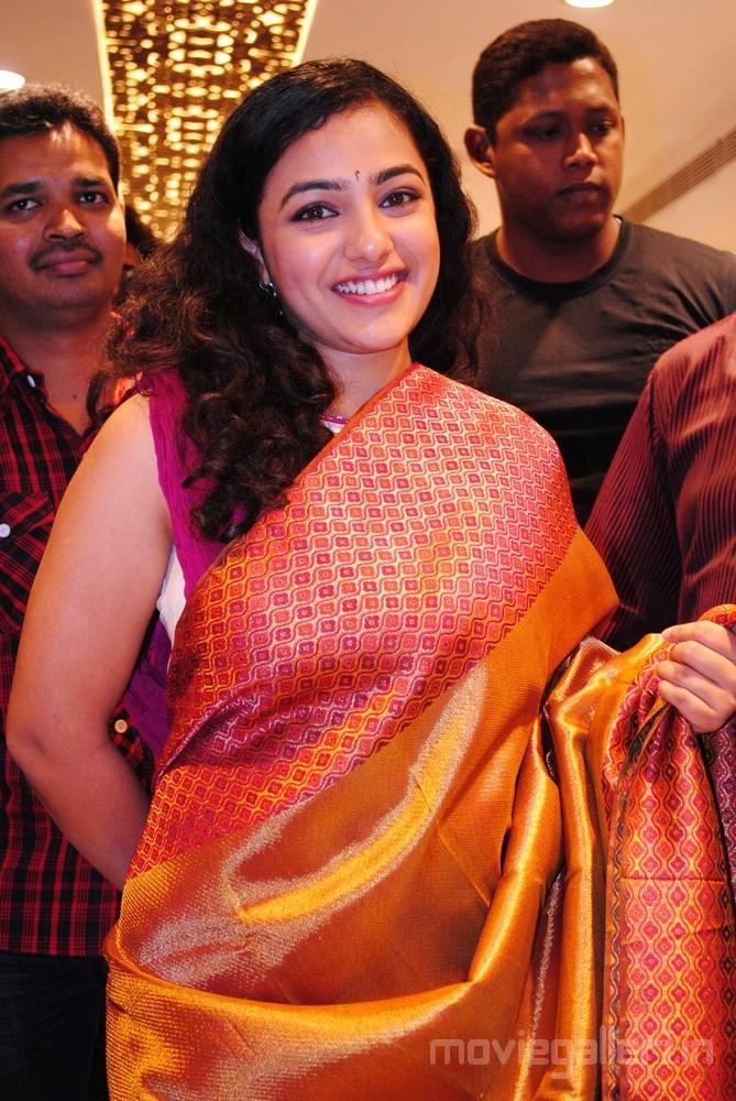 Actress Nithya Menon Photos Designer Studio Mandir Launch Sexy Stills