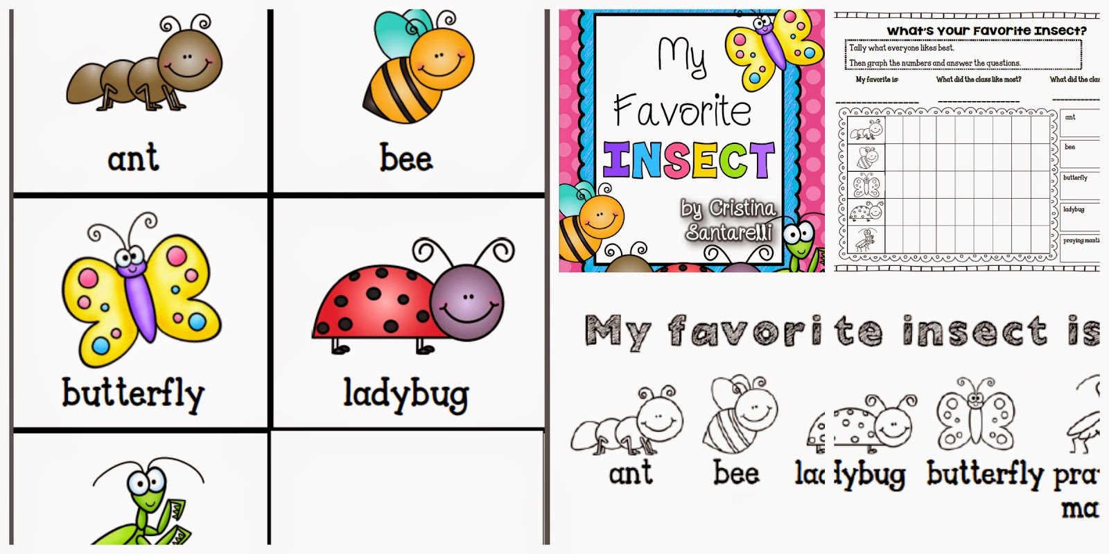 my favorite insect is the: