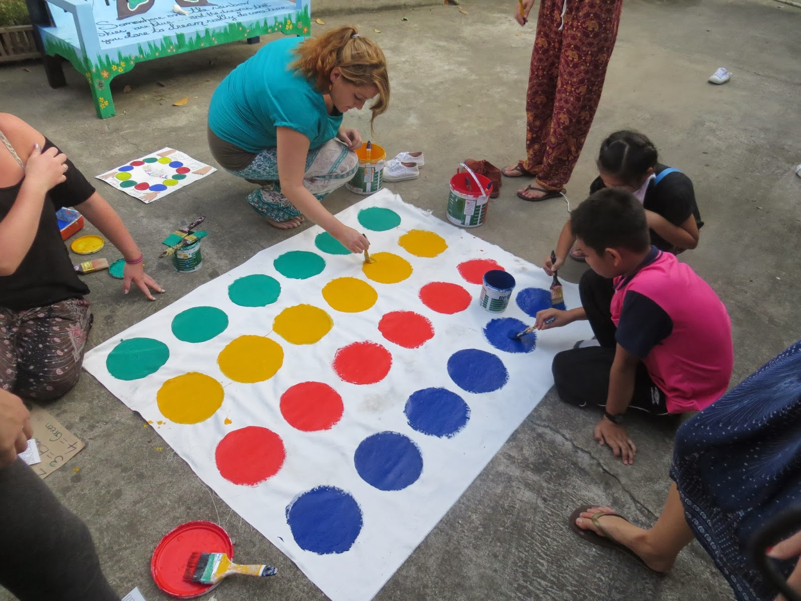 twister with the young lions volunteer blog