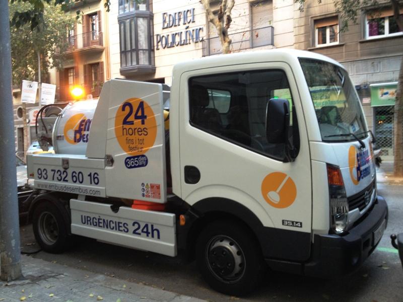 Desatascos de tuberías en Barcelona