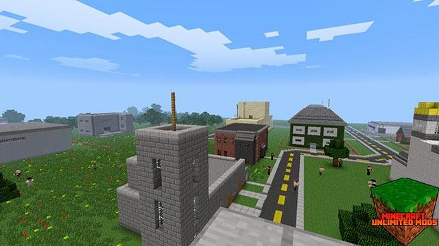 DayZ mod Minecraft ciudad