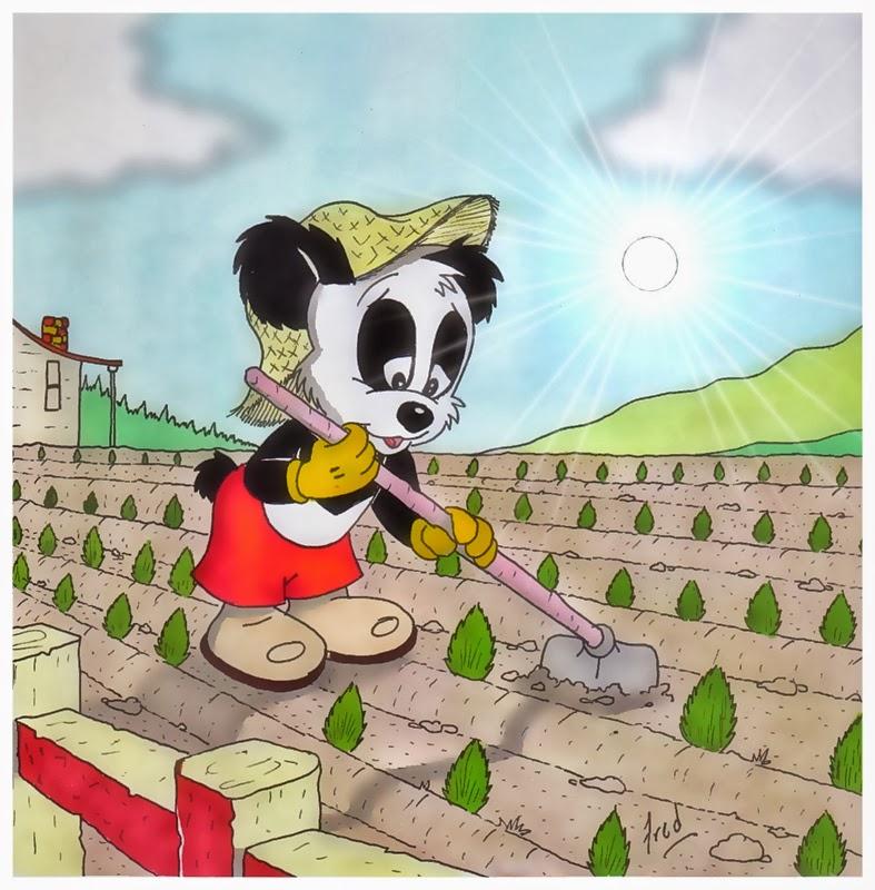 Andy panda hd wallpapers for Andy panda jardin