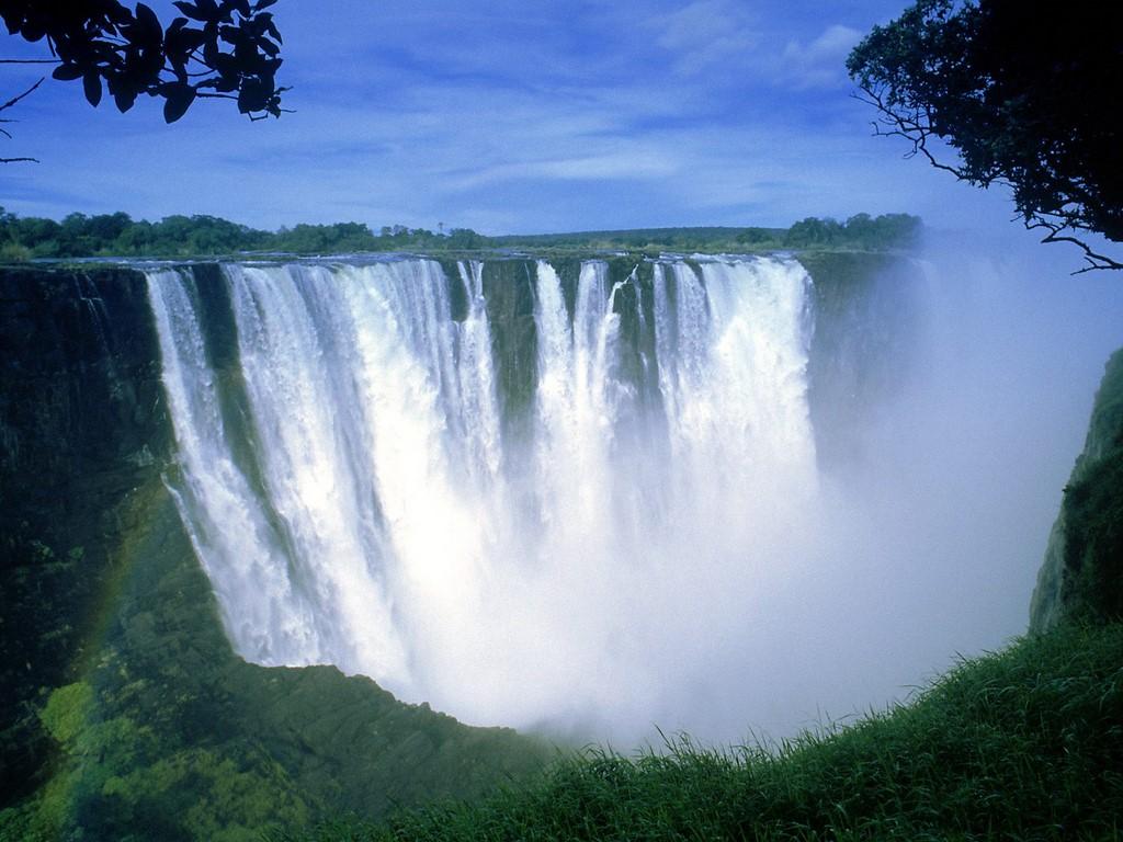 World visits the victoria falls in zimbabwe cool wallpaper for Piscina del diablo