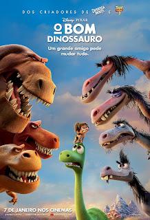 Pôster/capa/cartaz nacional de O BOM DINOSSAURO (The Good Dinosaur)