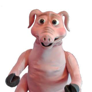 Pig Latex Puppet from Allpropuppets