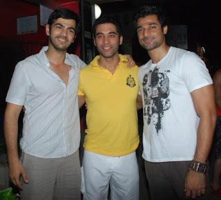 Hanif Hilal with Kushal Punjabi