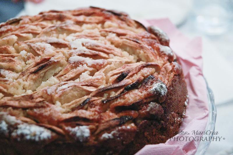 torta di mele di Natale