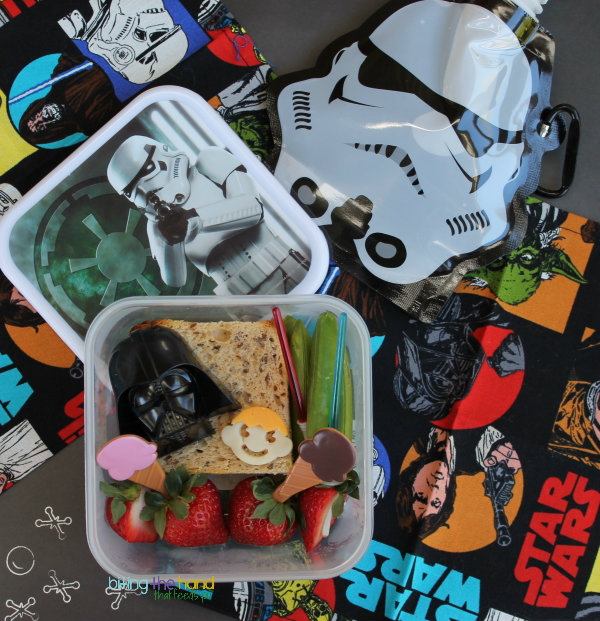 Darth Vader and Son book bento lunch