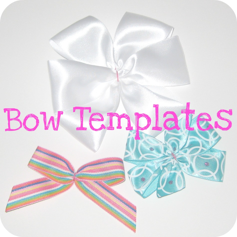The jocole blog bow templates monday september 12 2011 pronofoot35fo Gallery