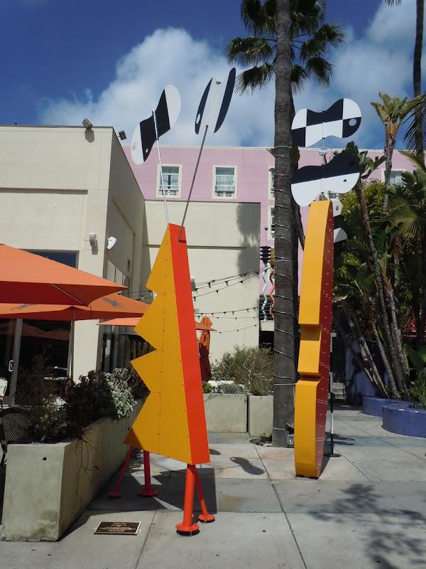 Surfboard Tiki Peter Shire sculpture