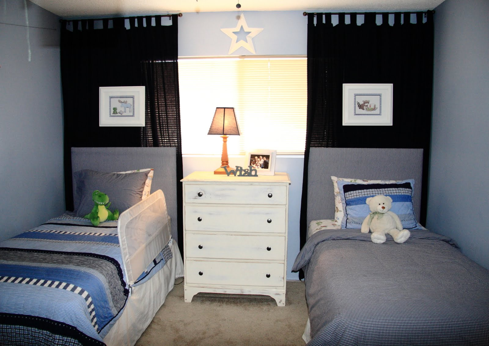 little boy 39 s nautical pirate bedroom reveal yellow bliss road