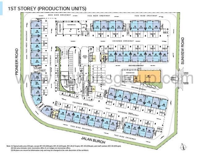 1st storey floor plan