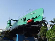 Monumen Kapal Selam di Surabaya
