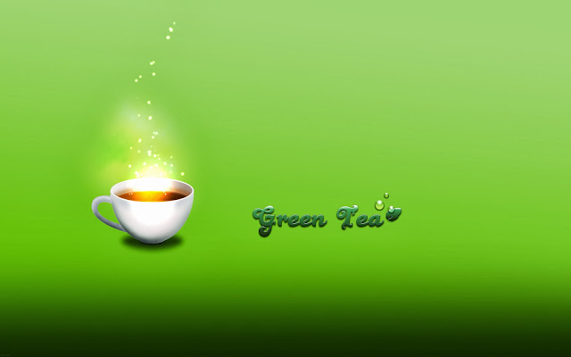 Green Tea Wallpaper