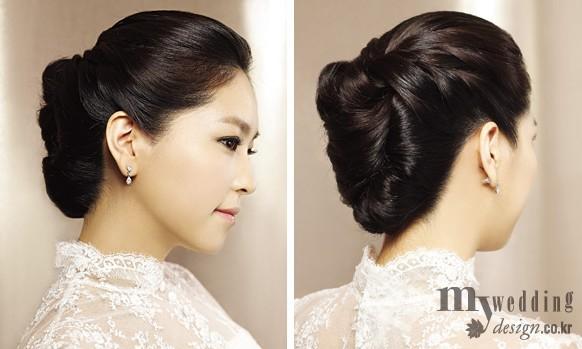 tóc cô dâu hàn quốc