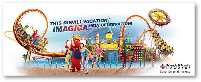 Imagica Booking Partner www.aksharonline.com Happenings at park: Ø  Antakshari Competition  Ø  Jigsaw Puzzle Competition  Ø  Quiz Competition  Ø  Painting Competition  Ø  Talent Hunt Competition  Ø  Special Treasure Hunt  Ø  Special Guest Artist Performance  Ø  Meet N Greet with Characters  Ø  Shows by Magicians Acrobats & more  Ø  Lots of Gifts & Take backs    (iii) Win Gifts worth Rs.25,000 EVERY DAY Participate in the slogan contest each day & stand a chance to win Imagica Gift Cards and hampers. Entire November.   (iv) Carnival Games Enjoy games that you've grown up playing, now at Imagica.