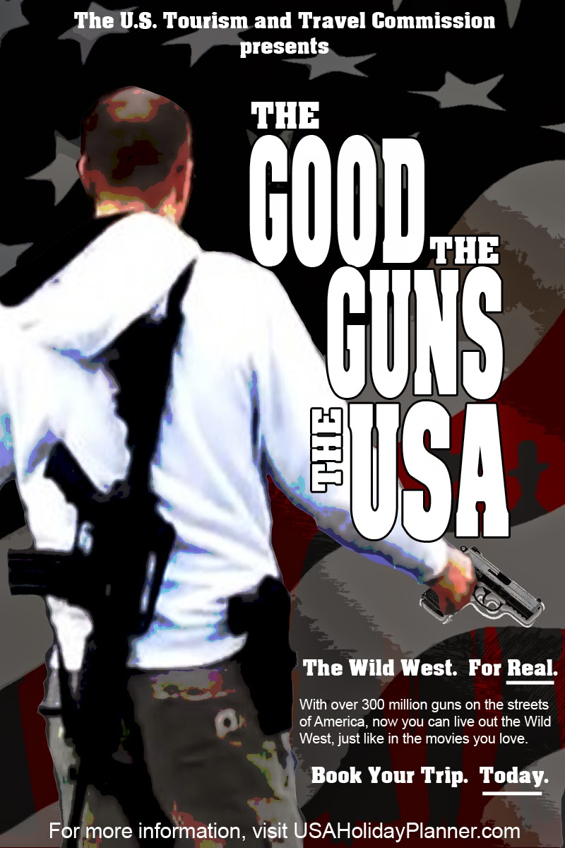 The Good, The Guns, The USA:  The Wild West. For Real.