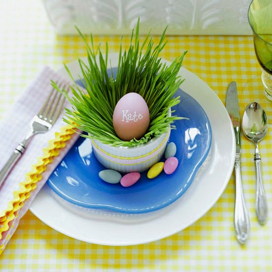 Idea for Your Easter Table