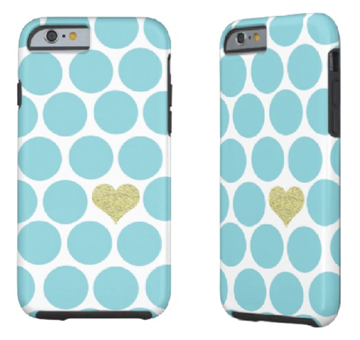 http://www.zazzle.com/caribbean_blue_polka_dot_glitter_heart_iphone_iphonecase-256984265926301270?rf=238845468403532898