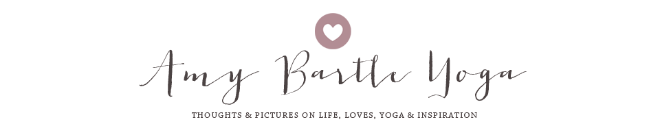 Amy Bartle Yoga Blog