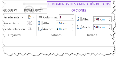Agregar columnas en segmentos de datos