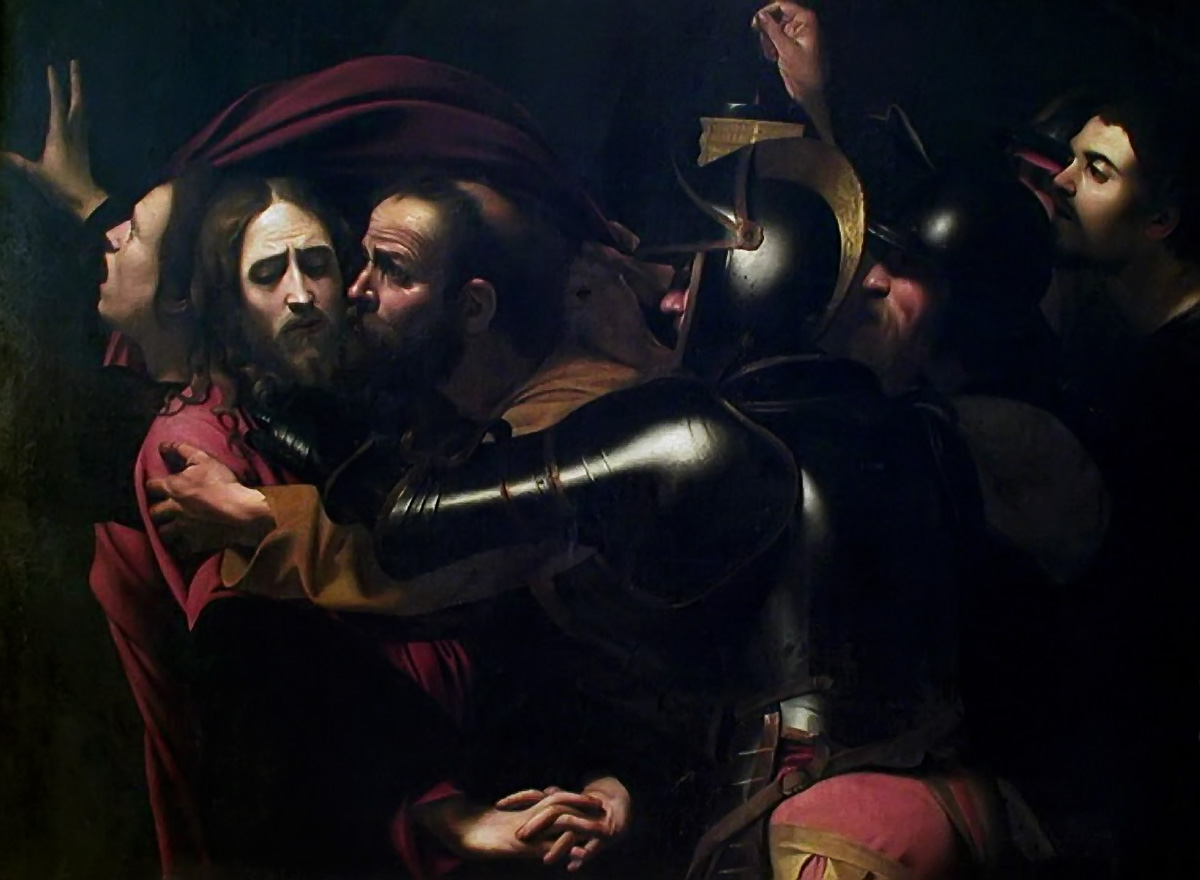 jesus and caravaggio But jesus looks at him and says, follow me he couldn't believe it if you have  time, go and see the picture that caravaggio painted about the.