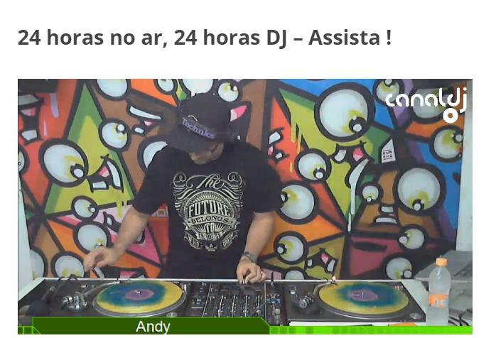 DJS,Online Ao Vivo