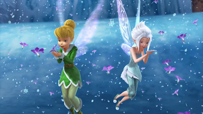 Tinkerbell and Periwinkle from Secret of the Wings Disney Movie
