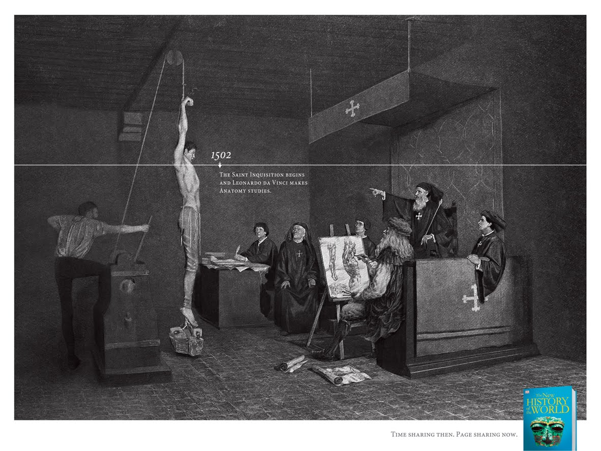 THE SAINT INQUISITION - EL COMERCIO NEWS PAPER - LEO BURNETT PERÚ
