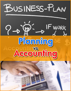 Planning vs. Accounting