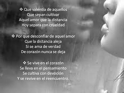 Amor verdadero versos