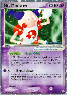 Mr. Mime EX FireRed and LeafGreen Pokemon Card Set
