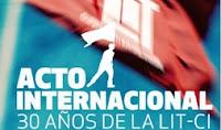 El 15 de diciembre celebraremos los 30 años de la LIT-CI en Centroamérica