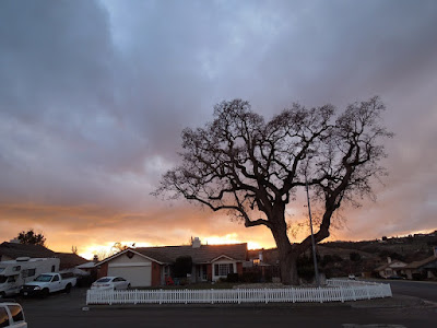 Sunset from my Front Yard in Paso Robles,© B. Radisavljevic