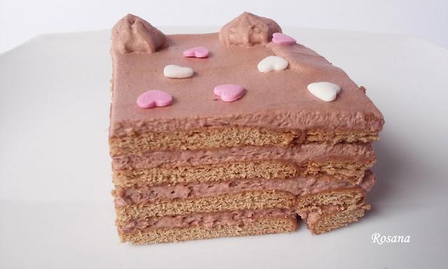 tarta de trufa con galletas