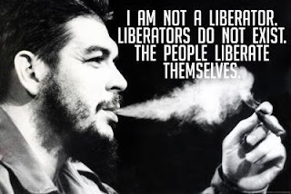 CHE GUEVARA [June 14, 1928 - October 9, 1967] I admire his courage, strength and refusal to never give up, even when everyone around him lost the courage and patience to see this particular mission to its fruition. A man so inspired by his convictions that he would continue to fight....to fight the enemy of the proxy Western government, and to fight to motivate those around him to defend their country and their dignity.