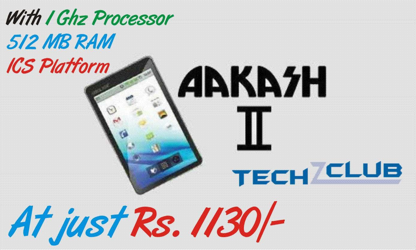 Aakash 2 Tablet – Price & Specs