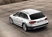 2013 Audi A4 Allroad rear view