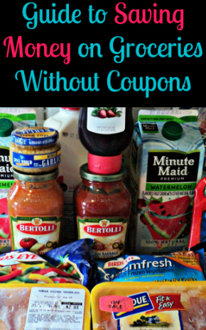 Save money on groceries without coupons