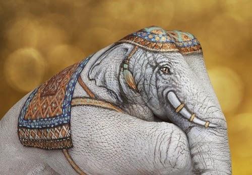 09-Elephant-Guido-Daniele-Artist-Hand-Painting-Italian