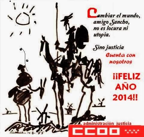nos sumamos a los deseos de los camaradas de JUSTICIA...