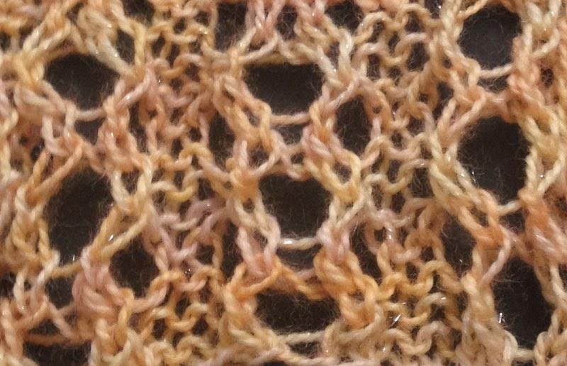 Knitting Rib Stitch On Circular Needles : Italian chain ribbing the weekly stitch